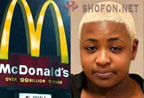 She opened fire at McDonalds because of incorrect order issued
