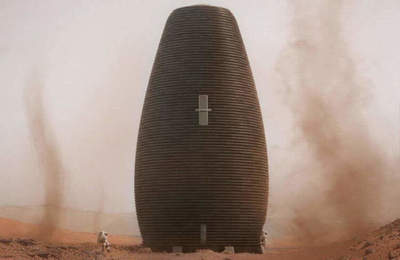 NASA chose the winner of the competition for the development of Martian dwellings
