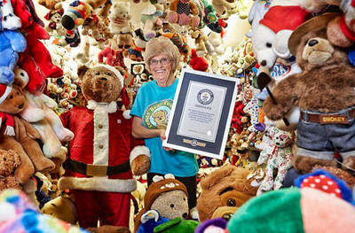 What it is the largest collection of teddy bears