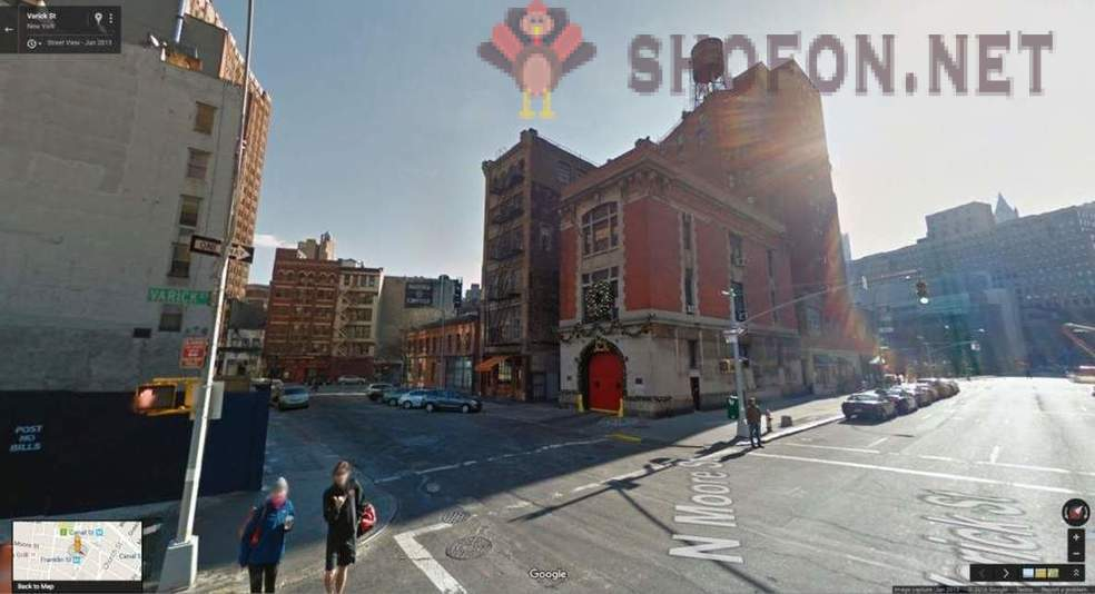 Places where famous films were shot, on Google Street View Maps