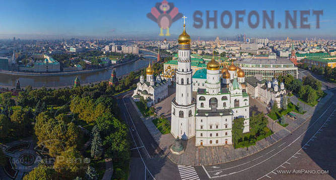 Moscow Kremlin from a height