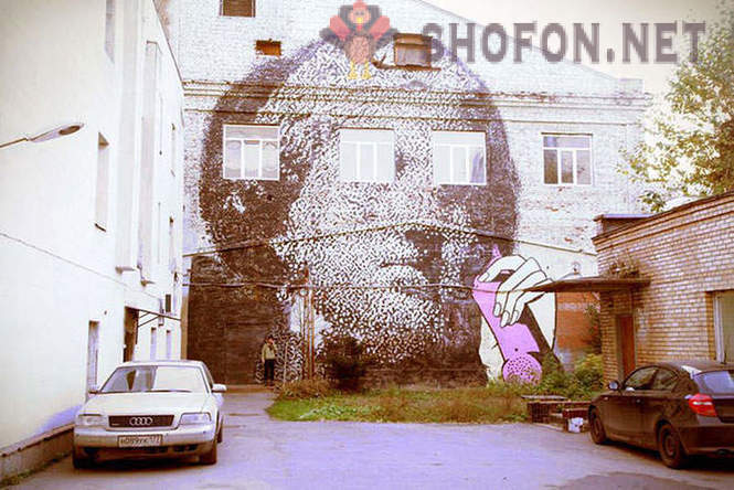 Best Russian street art 2012